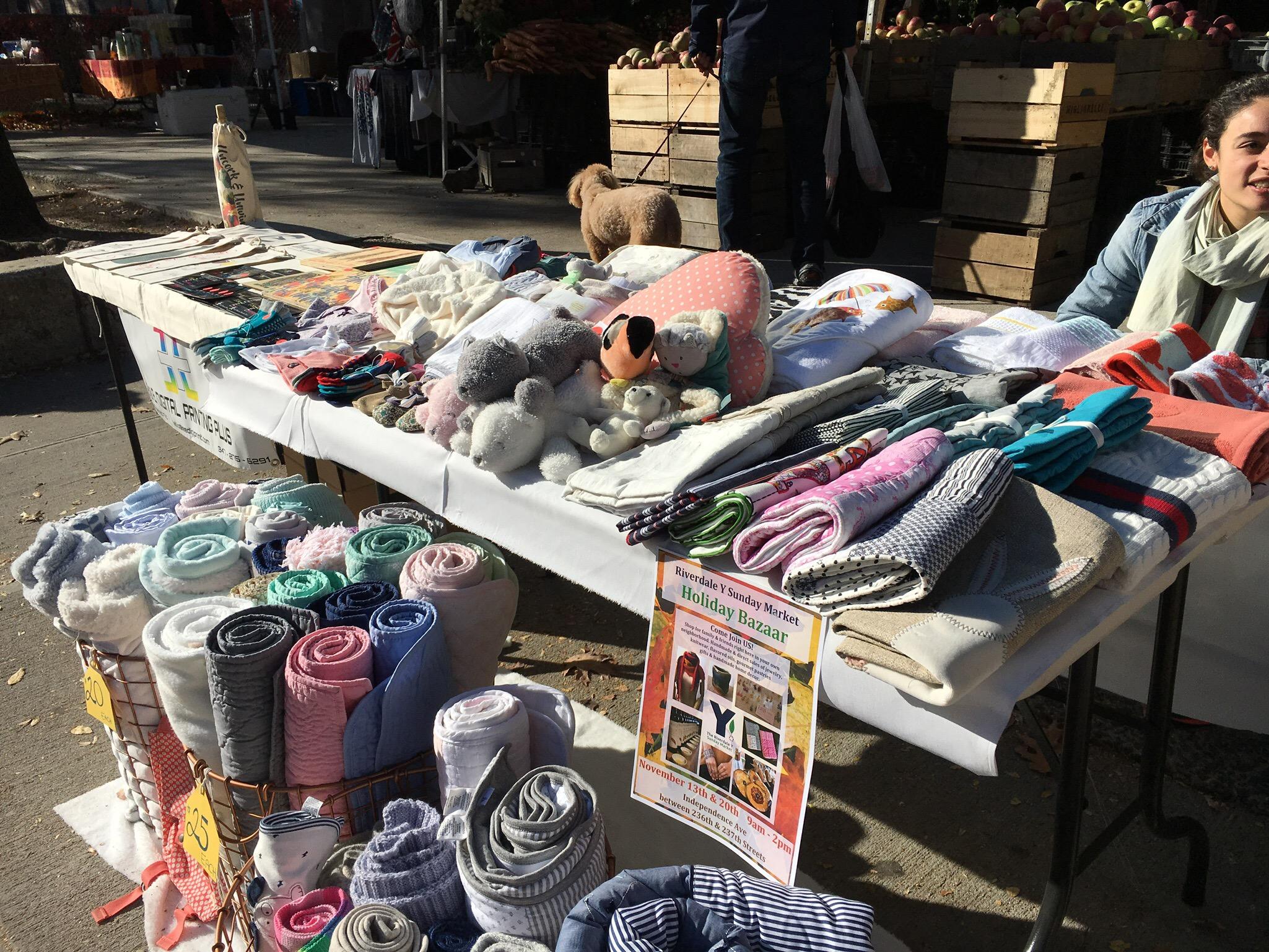 Sunday Market - The Riverdale Y