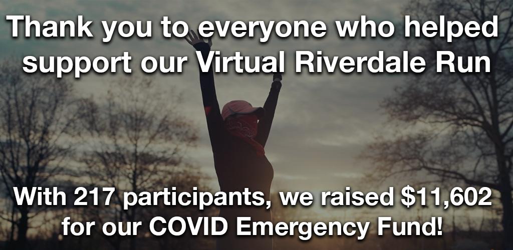 riverdale run thanks